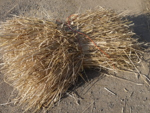 Long Straw Thatching